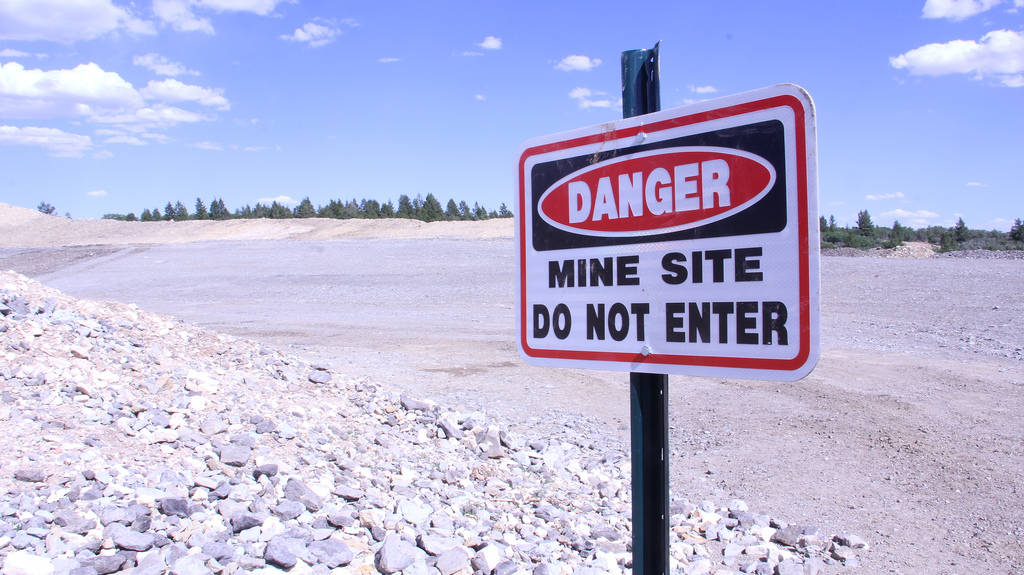 UTSR Danger Mine Site
