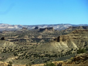 Eastern Utah landscape includes land transfer